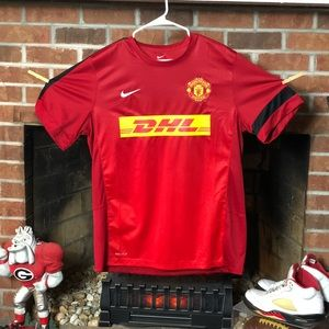 NWOT Nike Manchester United Men's Training Jersey